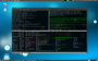 GNU Screen offers many great features such as running multiple terminal session within the same application window. The greatest feature is the split functionality that it offers.