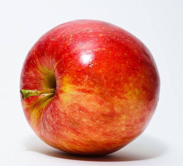 A regular apple